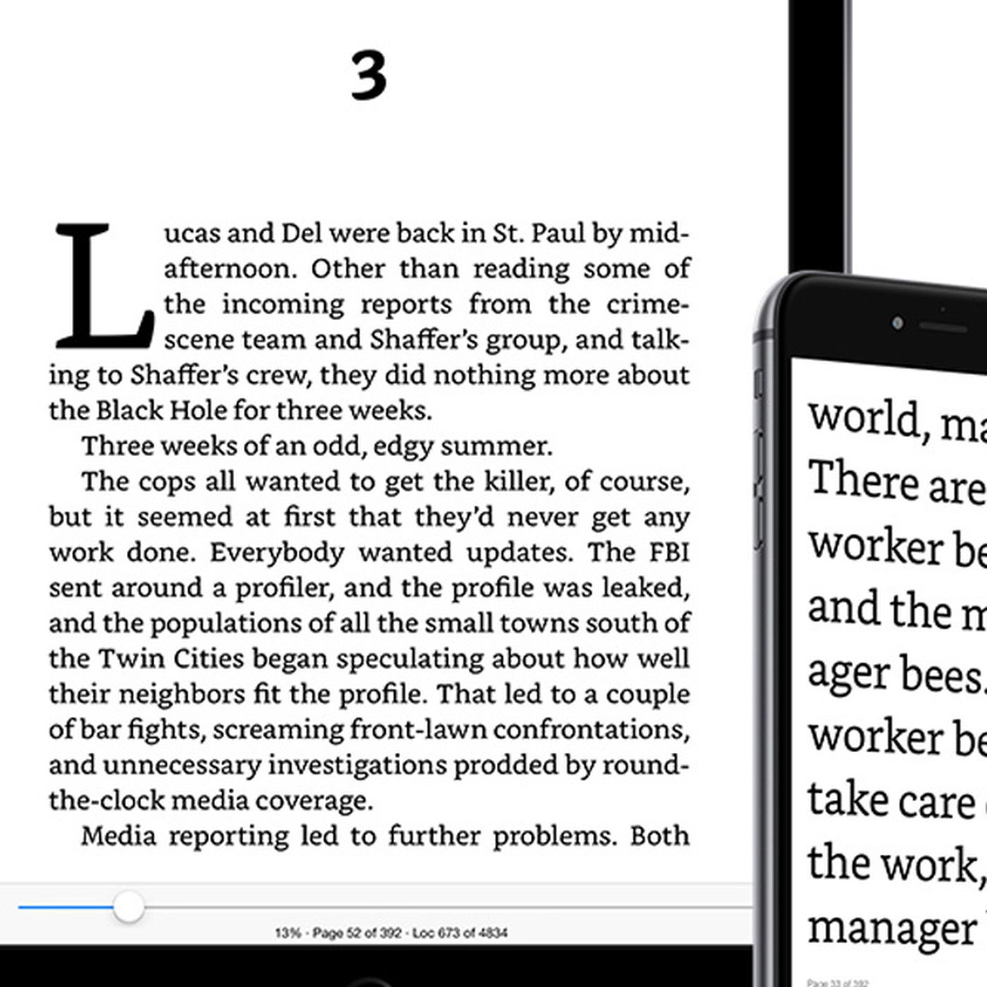 Amazon improves typeface and layout on Kindle for iPhone - The Verge