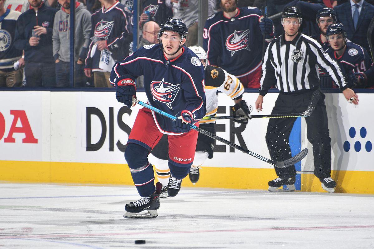 Boston Bruins v Columbus Blue Jackets - Game Three