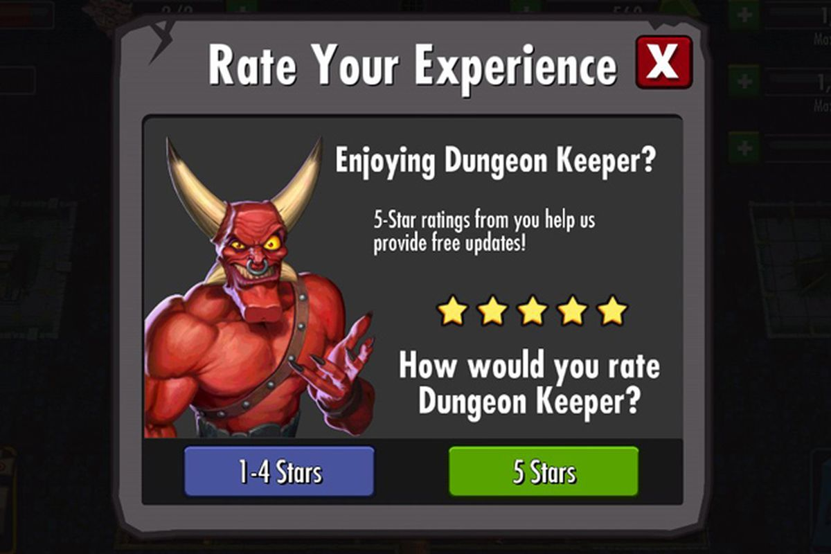 dungeon keeper rate