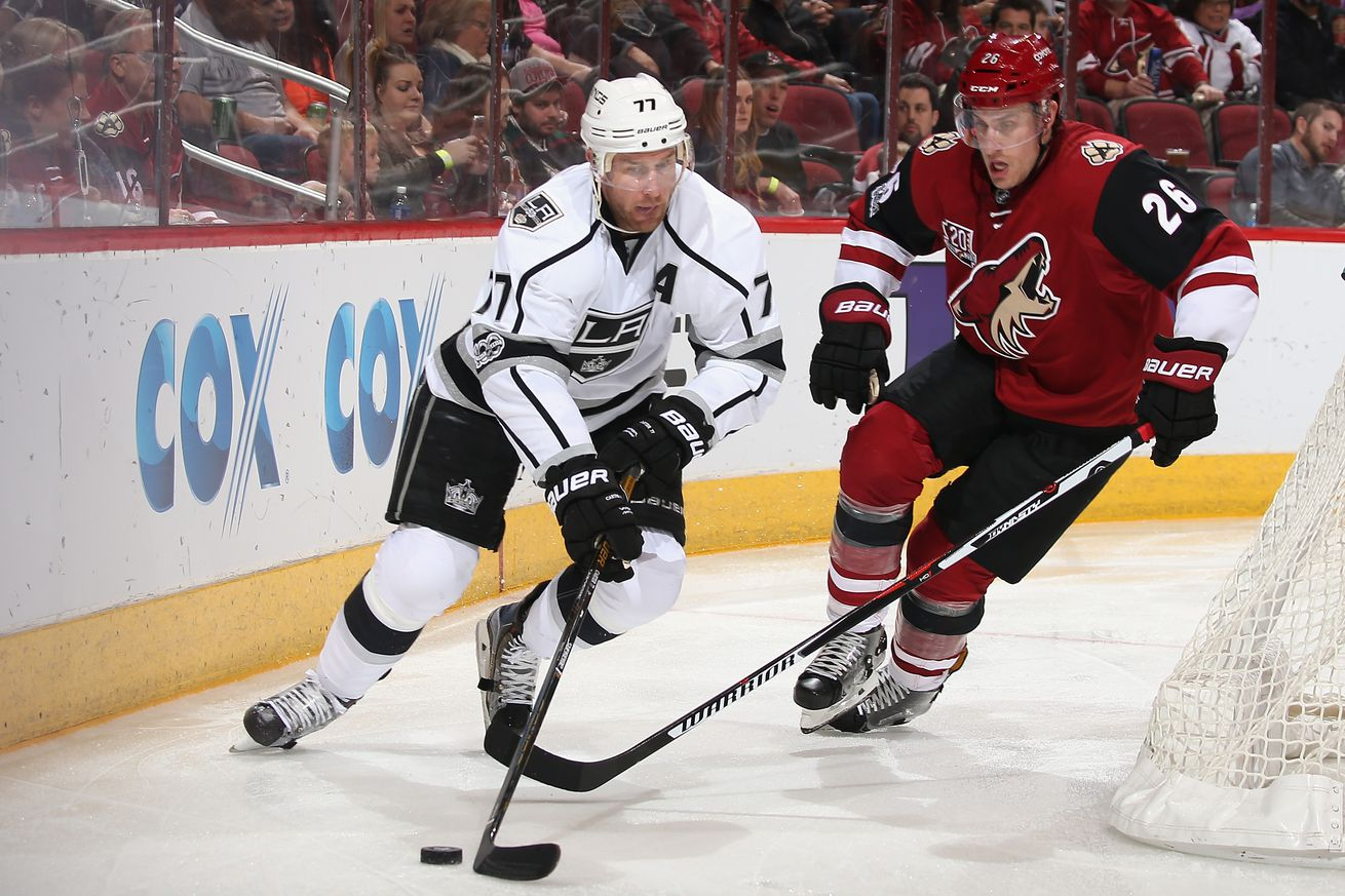 Arizona Coyotes dodged a bullet with rumoured Jeff Carter trade talks falling through