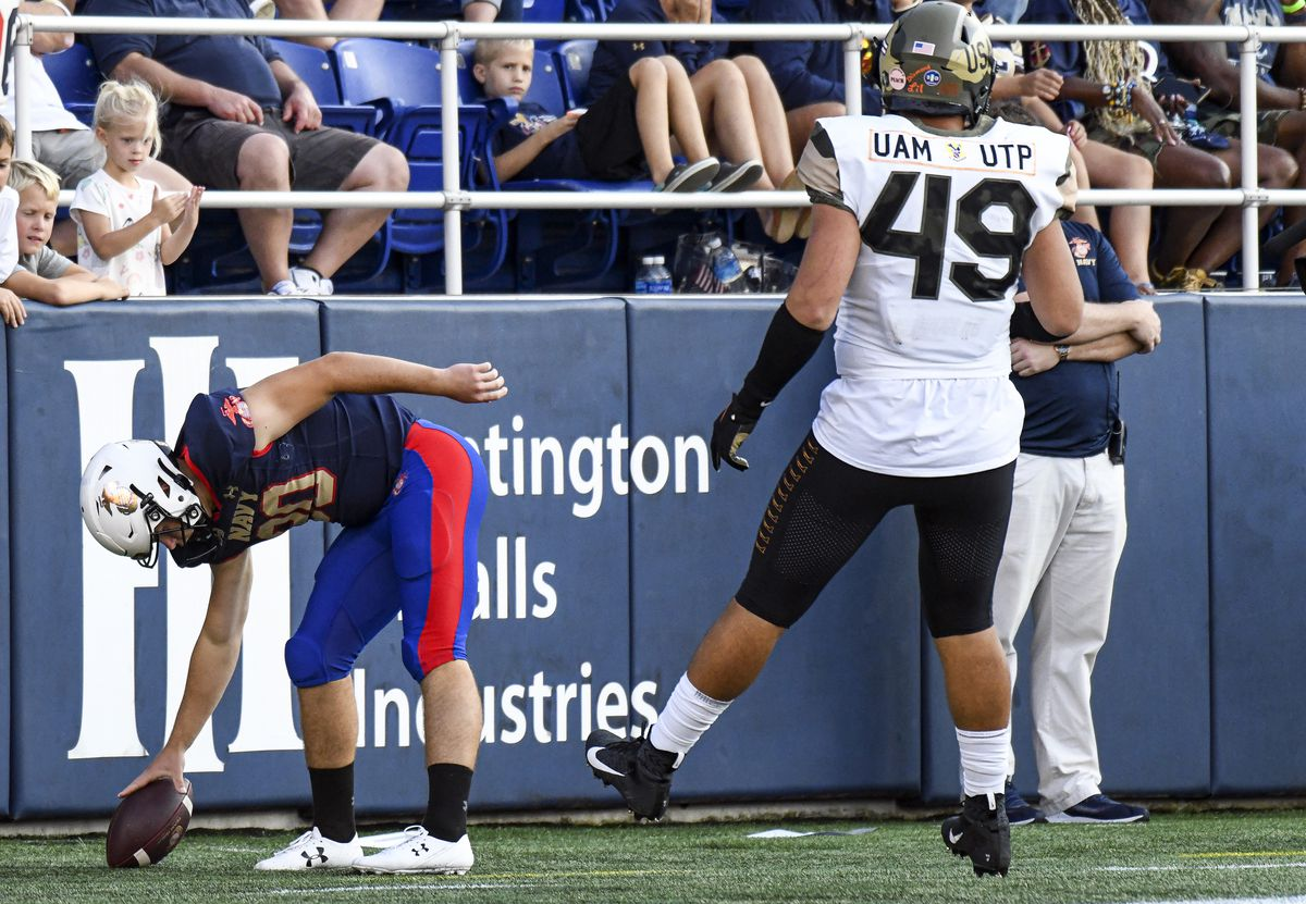 COLLEGE FOOTBALL: SEP 11 Air Force at Navy