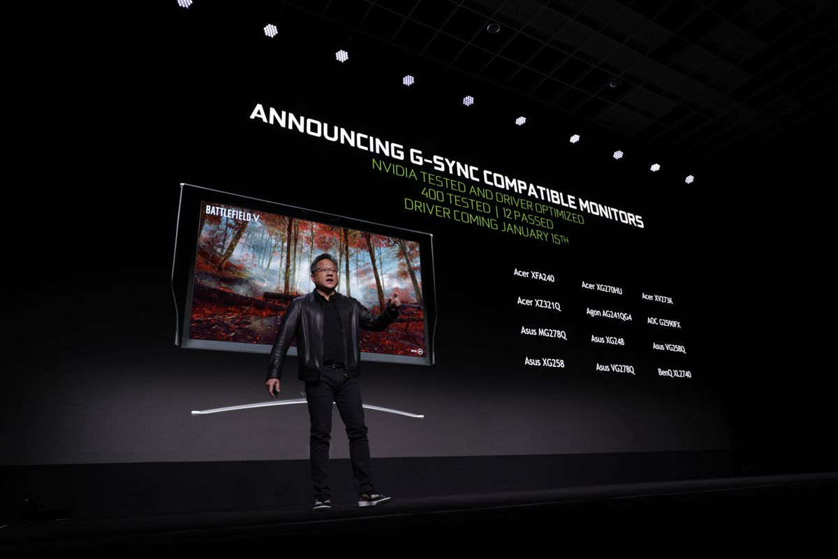 Nvidia will bring G-Sync support to some FreeSync monitors