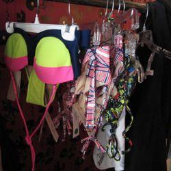 Some of the $75 bikinis we found.