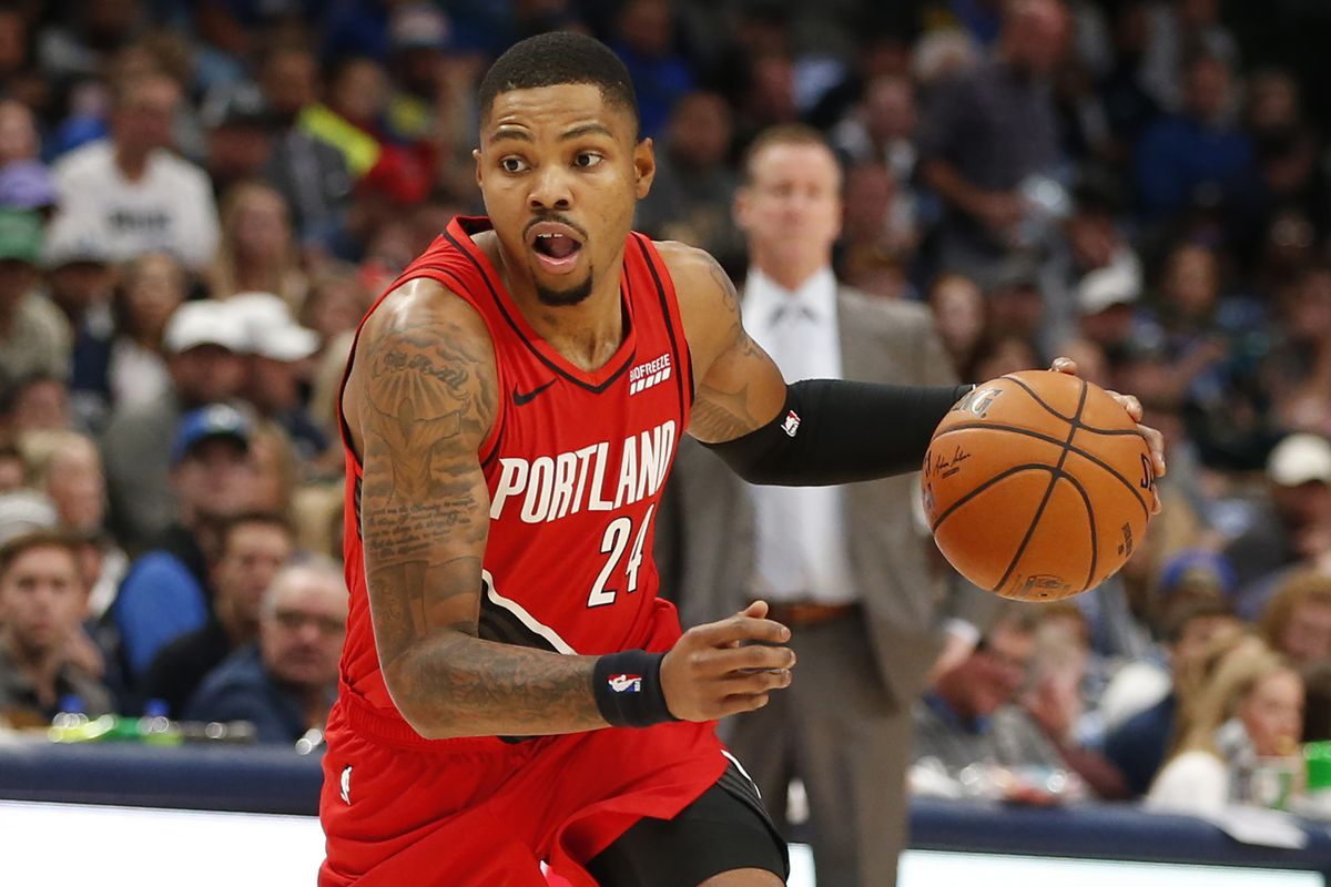 Image result for kent bazemore blazers usa today