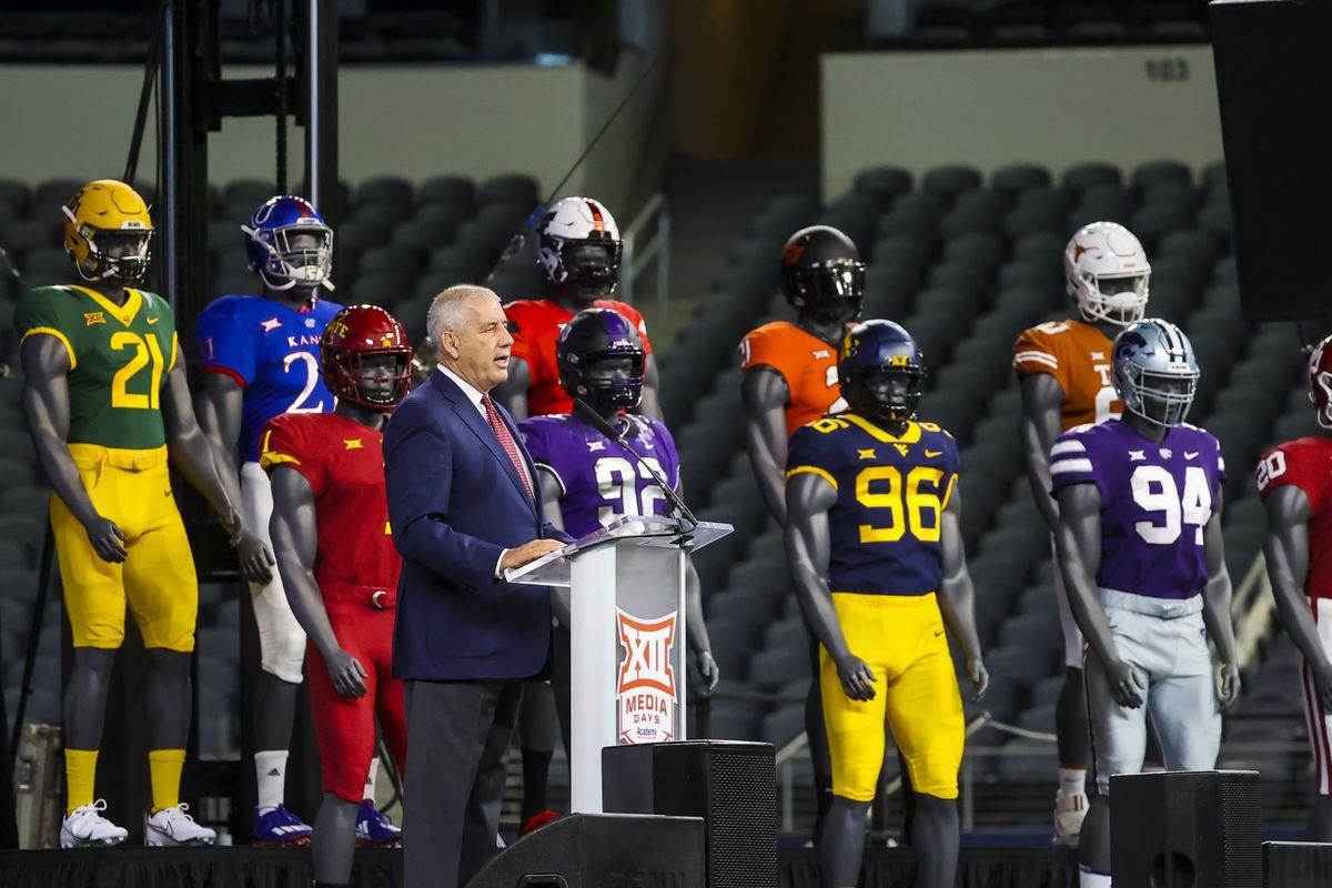 NCAA Football: Big 12 Media Days