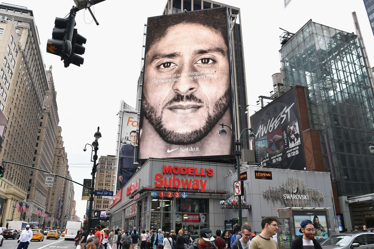 brand new 4d448 8c070 Colin Kaepernick s Nike ads are just one piece of a bigger  reckoning  in  the fashion industry
