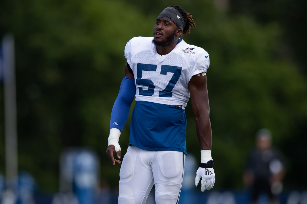 NFL: AUG 14 Colts and Browns Joint Practice
