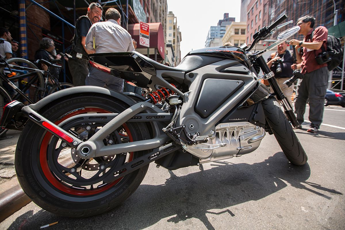 harley-davidson's all-electric motorcycles will be on the road