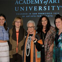 The Missoni women with Gladys Perint Palmer and Suzy Menkes; all photos by Randy Brooke/WireImage