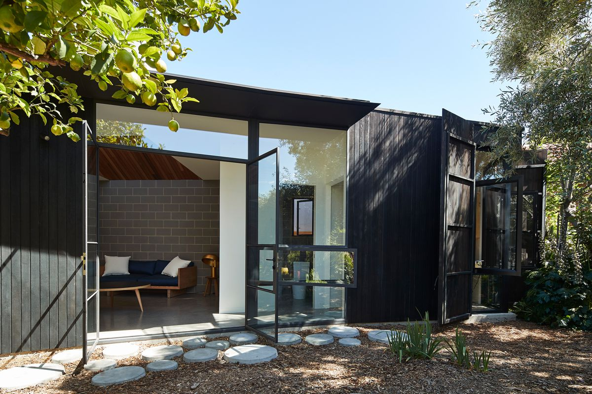 Dark Timber House Offers Refuge For Homeowner With Sleep Disorder Curbed