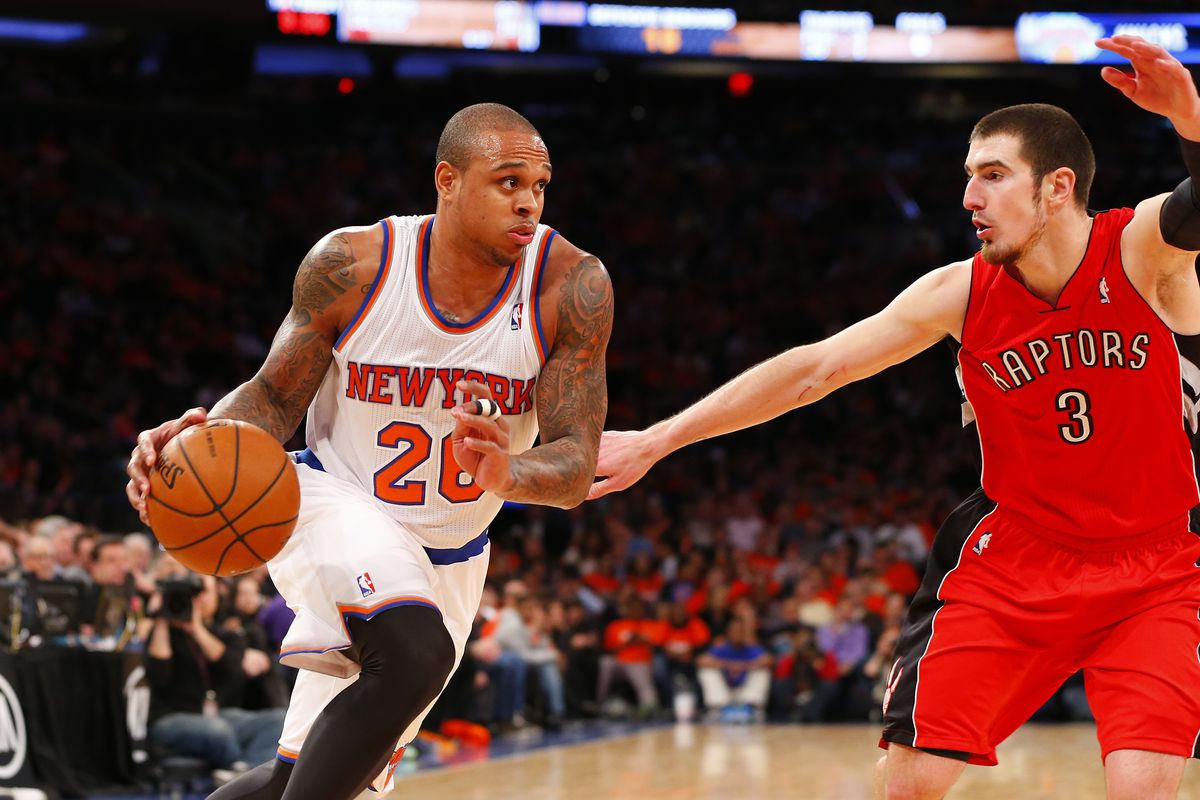 Most recent NBA photo was of him guarding Knicks legend Shannon Brown. It must be fate!