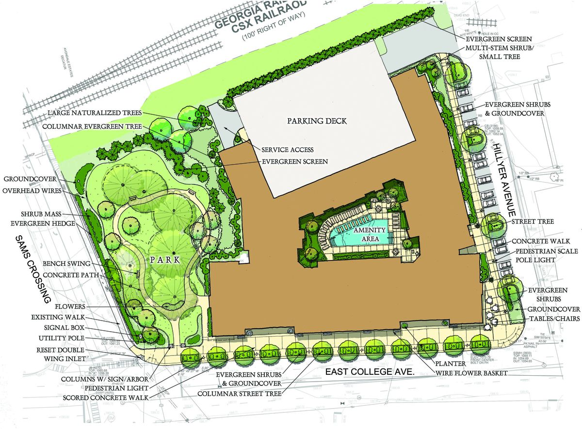 In Avondale Estates Mixed Use Gateway Project Is