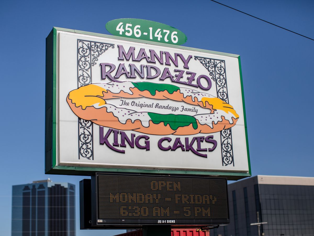 Famous King Cake Bakeries In New Orleans