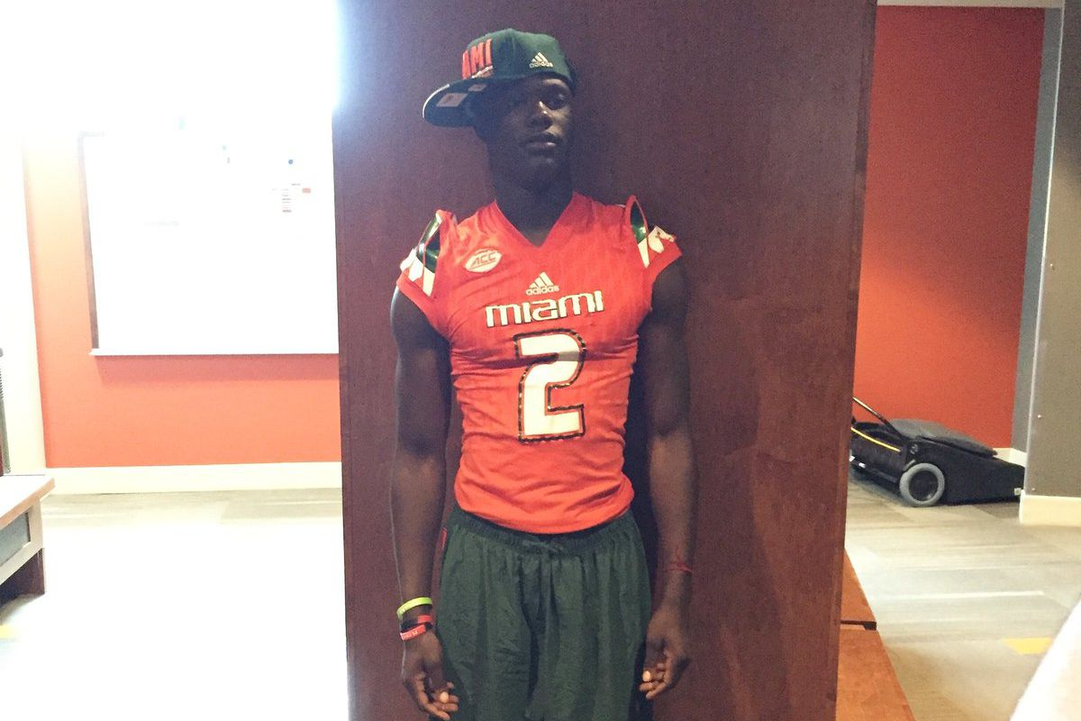 2018 Coral Gables DB Gilbert Frierson is the latest player to commit to Miami