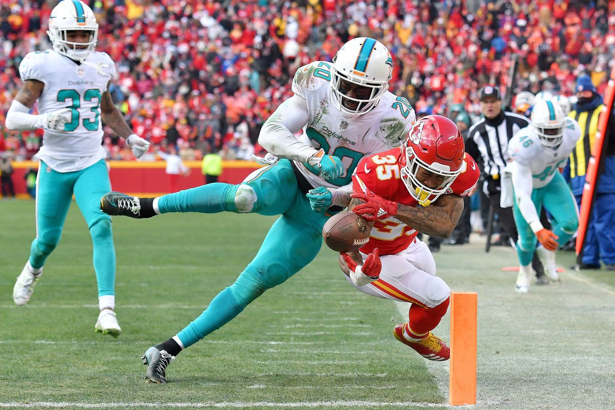 Chiefs running back Charcandrick West diagnosed with concussion
