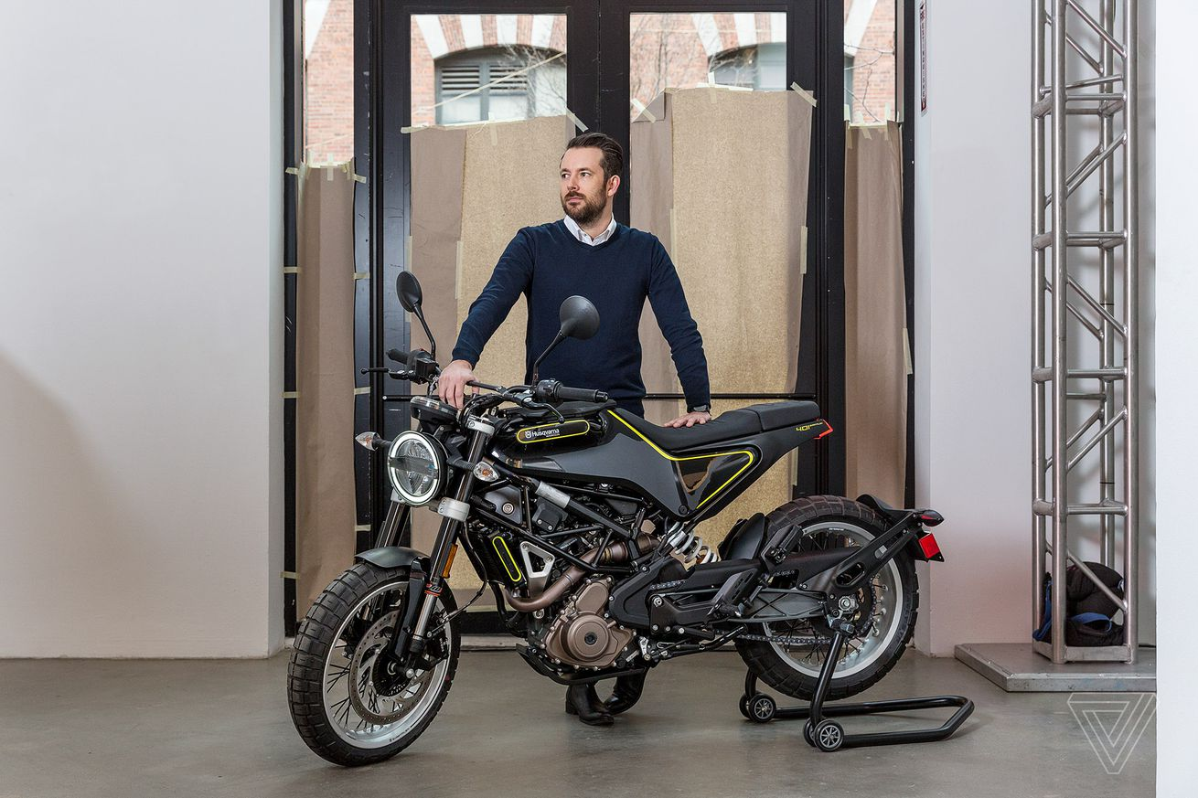 how this designer helped husqvarna return to street bikes with style
