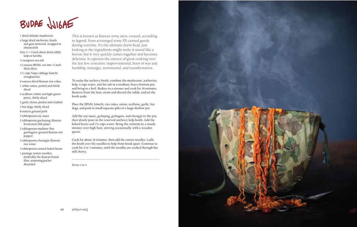 Anthony Bourdain budae jjigae recipe