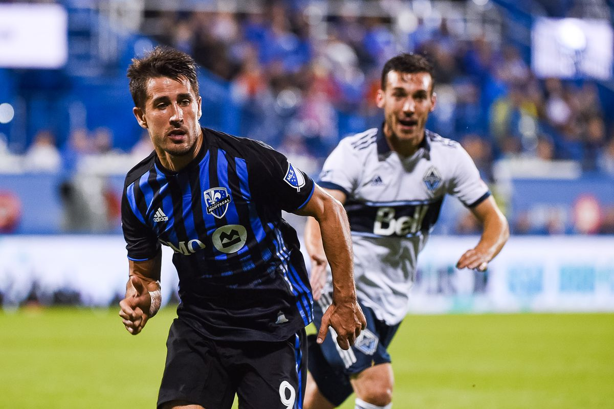 SOCCER: AUG 28 MLS - Vancouver Whitecaps FC at Montreal Impact
