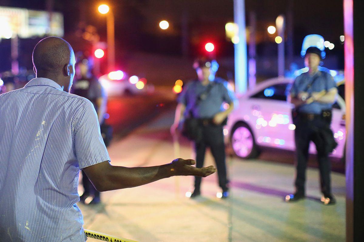 This man's expression basically captures the DOJ's attitude toward the Ferguson police: What the heck, dudes?