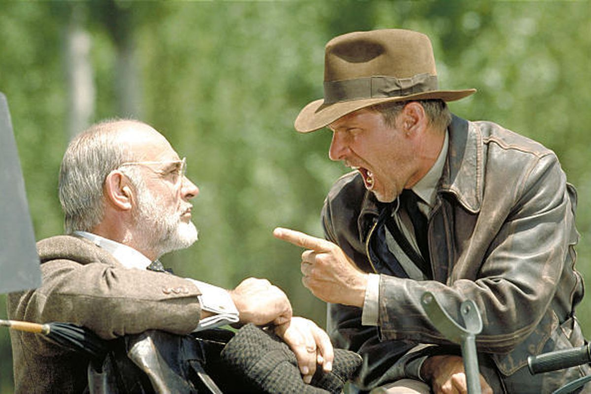 """A photo from """"Indiana Jones and the Last Crusade."""""""