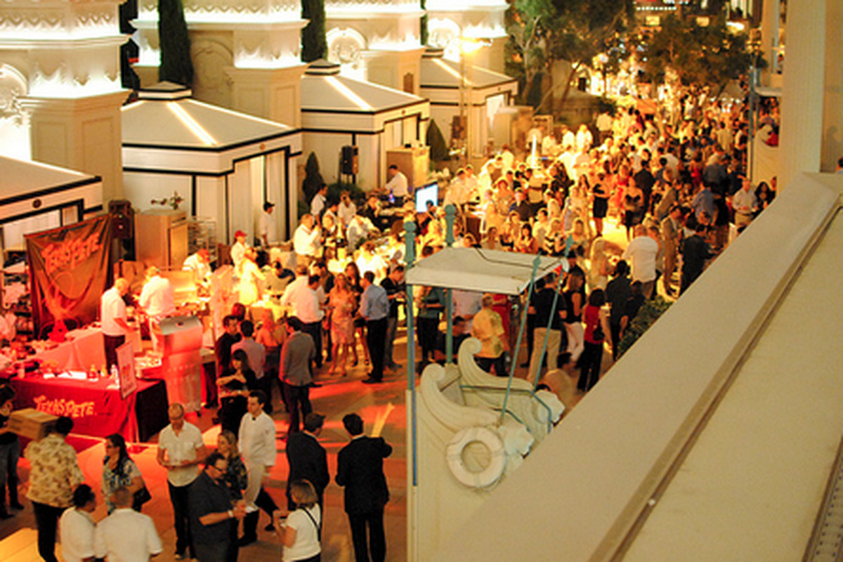 Scene from this past weekend's Vegas Uncork'd presented by Bon Appetit.
