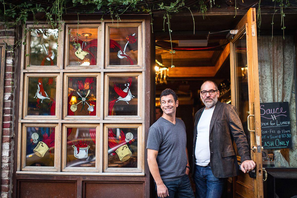 Rob DeFlorio and Frank Prisinzano of Sauce.