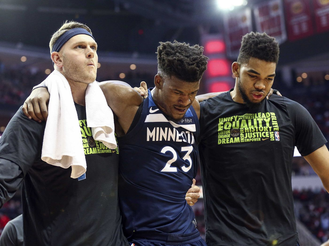 Jimmy Butler Injury Timberwolves Star Out 4 6 Weeks With Torn Meniscus Will Undergo Surgery Sbnation Com