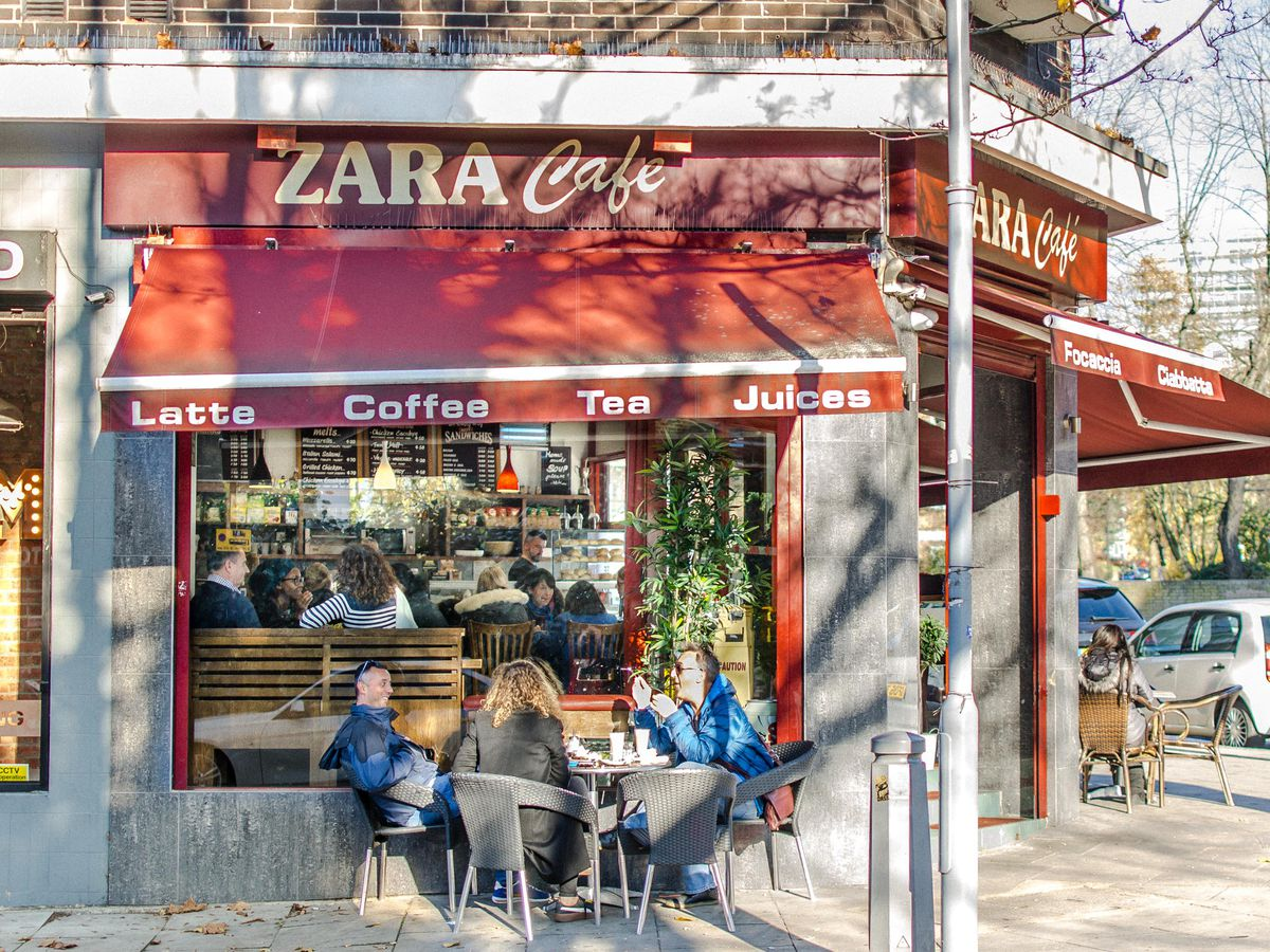 Zara Cafe's Balkan-inspired sandwich makes it one of London's best places to experience food from southeastern Europe