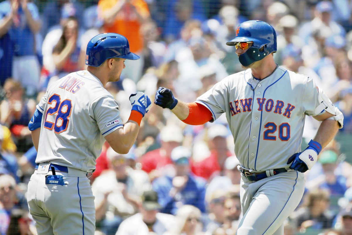 Final Score: Mets 10, Cubs 2 - Afternoon romp