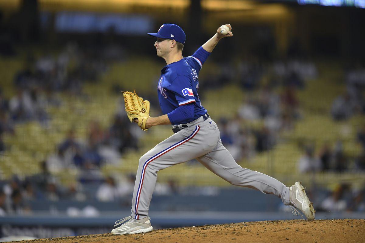 MLB: JUN 11 Rangers at Dodgers