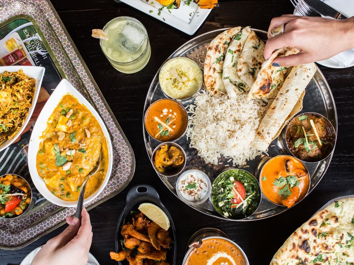 Where To Try Indian Thalis Around D C Eater Dc