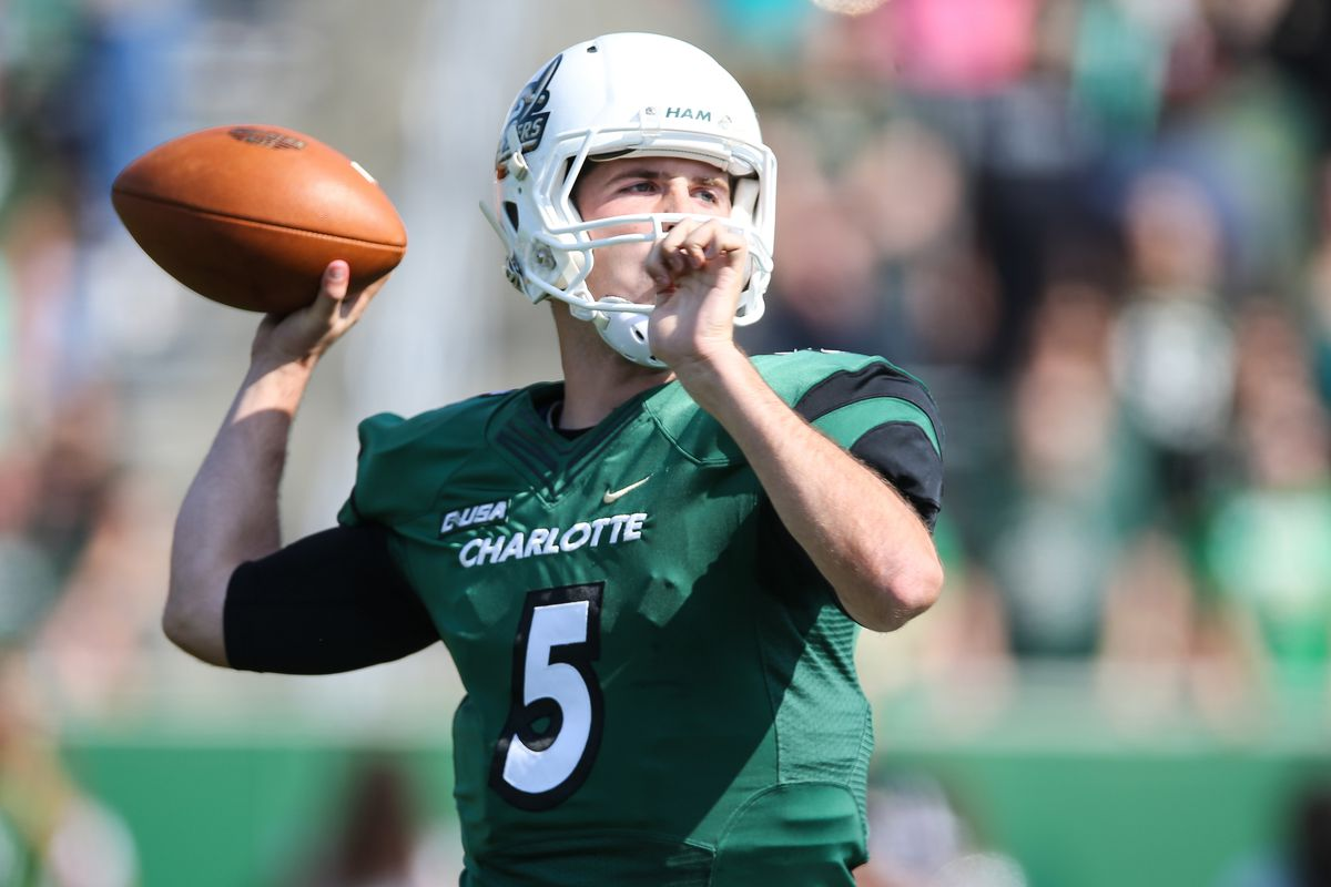 cheaper 63d48 b3547 Kevin Olsen gets another chance with Charlotte 49ers ...