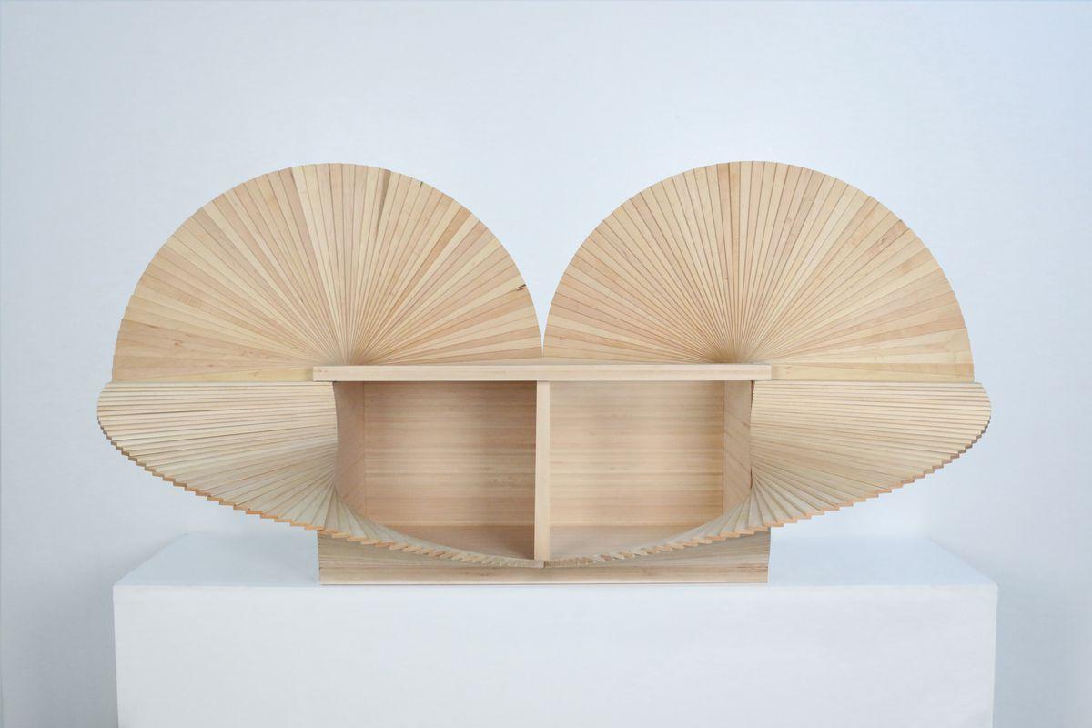 Light pine cabinet