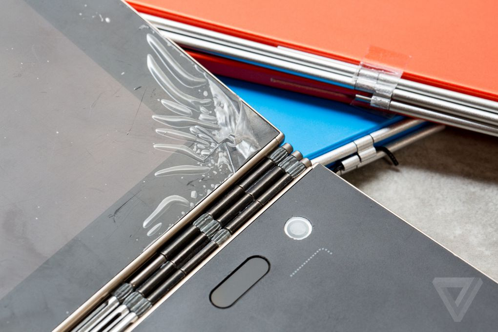 The Eventual Hinge Design Resembles Lenovo Uses On Its Yoga Laptops It Is Comprised Of 130 Different Parts