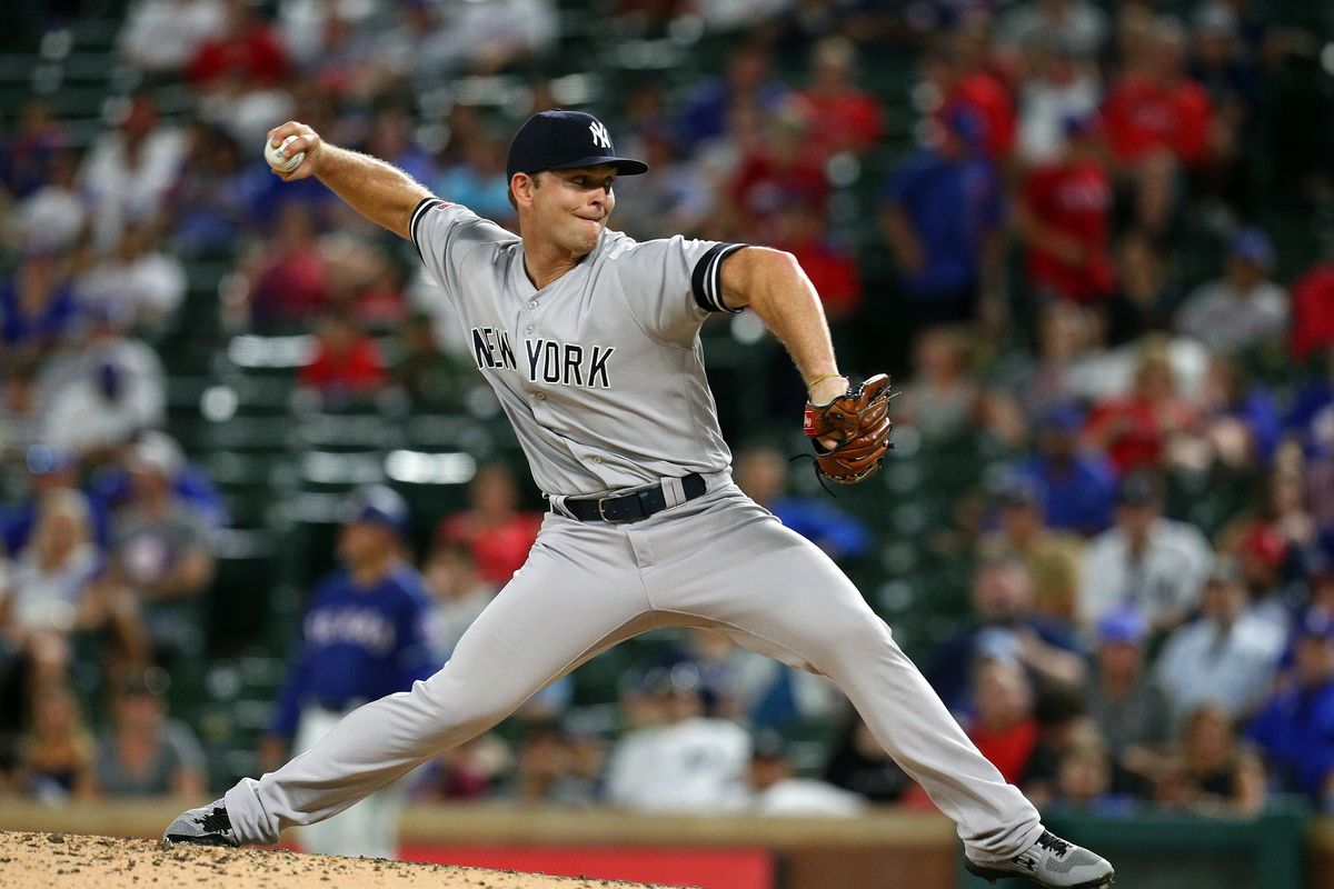 Royals acquire pitcher Chance Adams from the Yankees - Royals Review