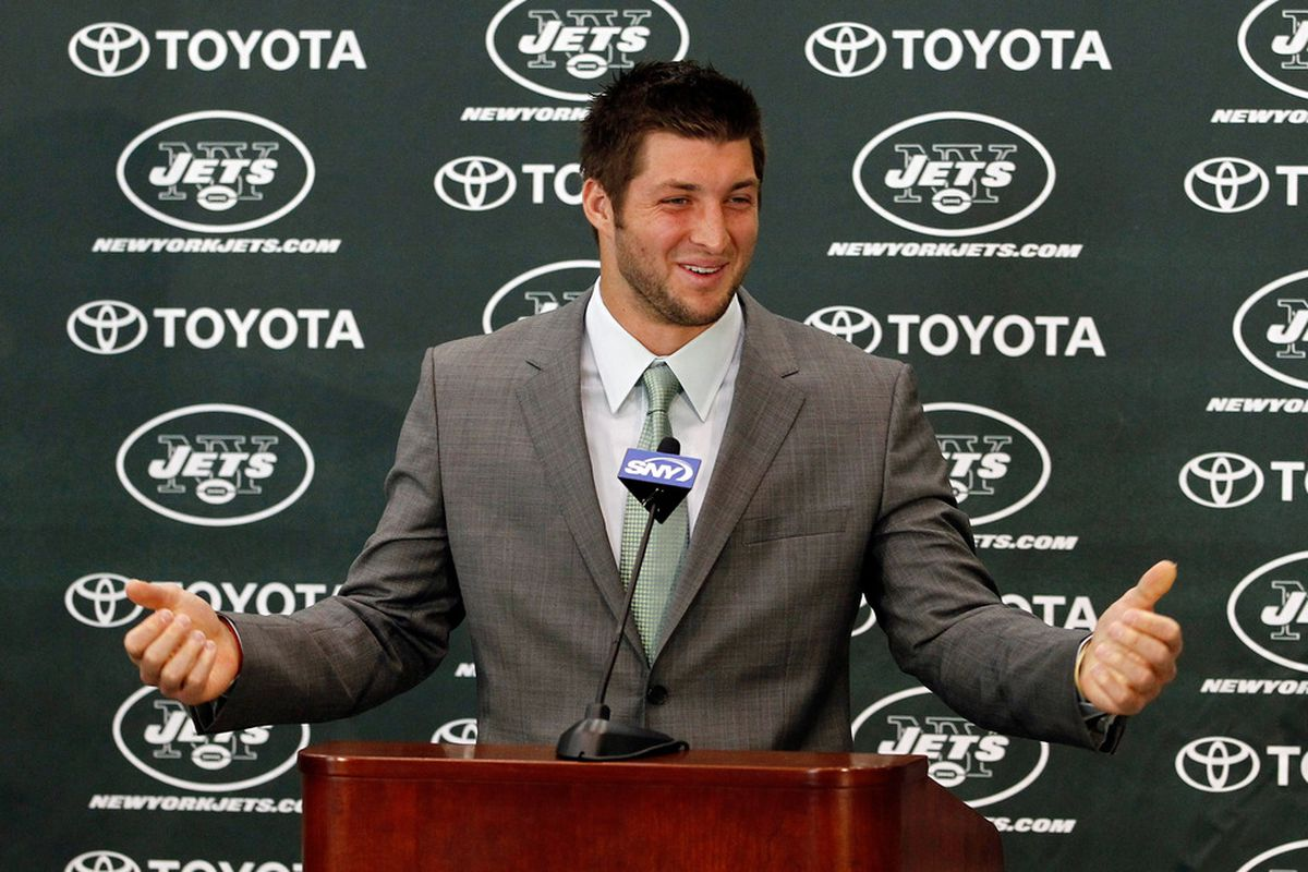 And yea, verily, the sixteenth pick shall enjoy being constantly overshadowed by his team's backup quarterback regardless of his play.