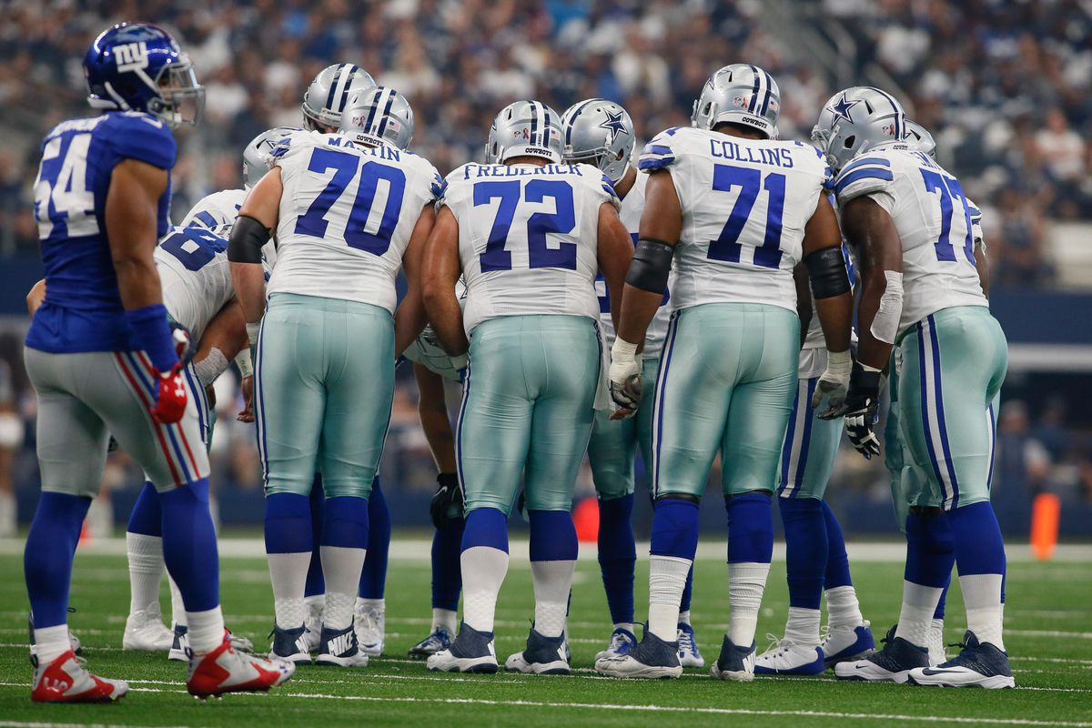 Most of the NFL has an offensive line crisis (while the Cowboys laugh at them)