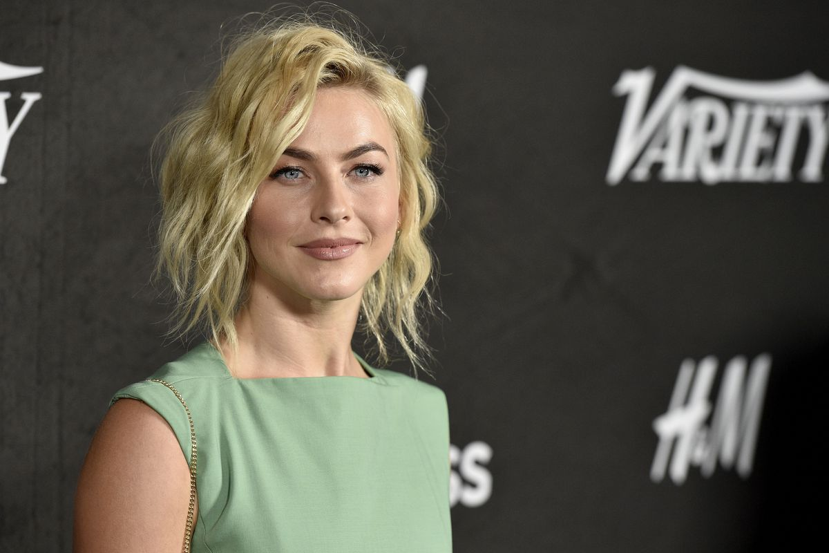 FILE - In this Aug. 28, 2018 file photo, Julianne Hough arrives at Variety's Power of Young Hollywood in Los Angeles. Hough is the other woman. The multi-hyphenate performer will play Jolene in Netflix's upcoming anthology series based on Dolly Parton mus
