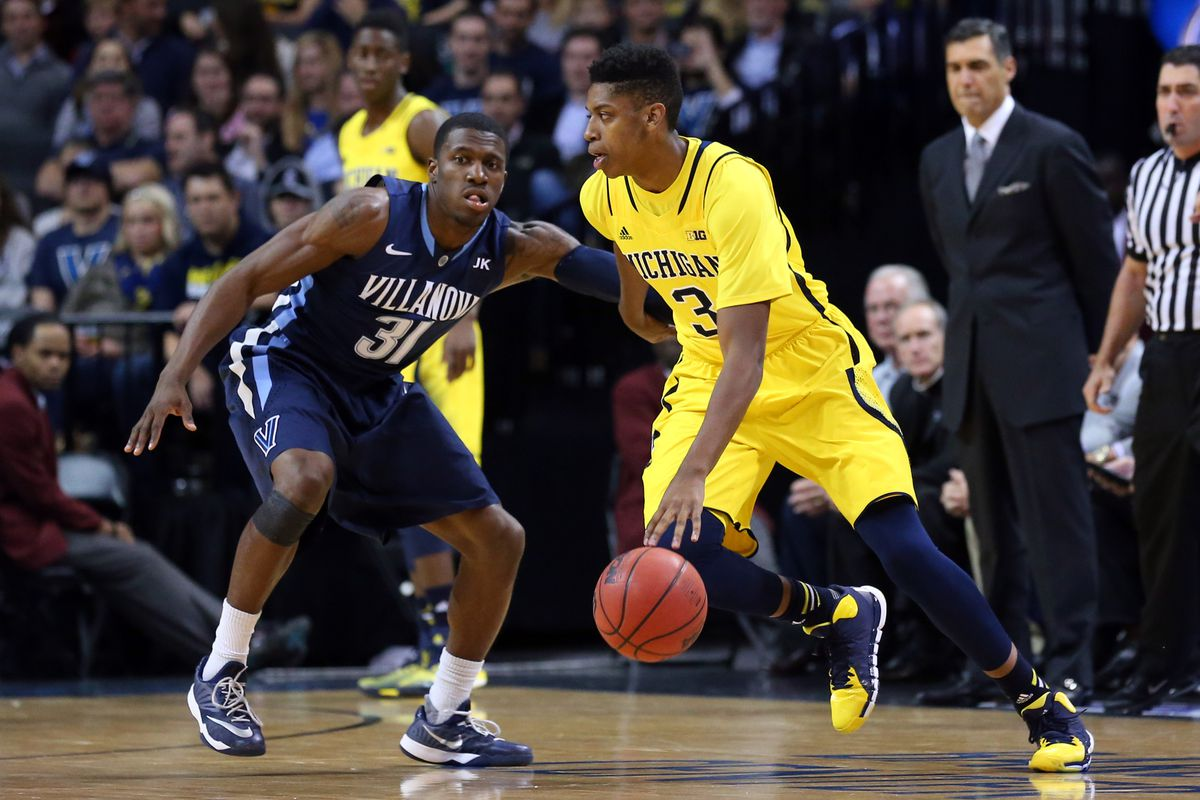 Image result for Michigan vs Villanova Basketball