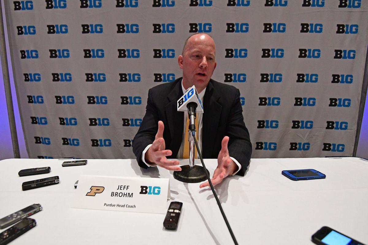 NCAA Football: Big Ten Media Days