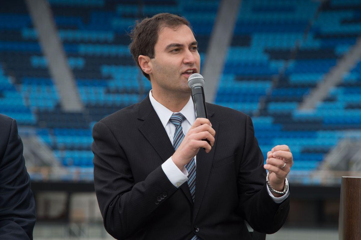 Quakes team president Dave Kaval spoke with Center Line Soccer