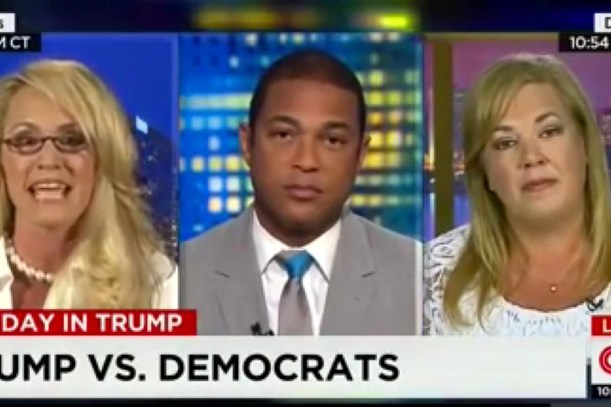 CNN talking heads, clarifying things.