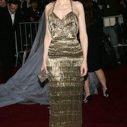 Cate Blanchett in Balenciaga in 2007.