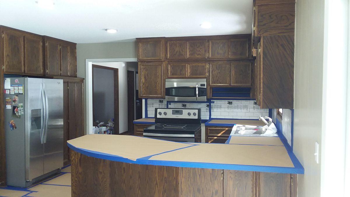 Kilz Kitchen Remodel