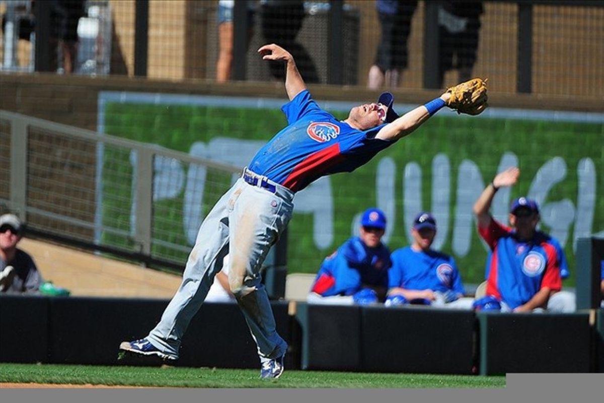Adrian Cardenas went 4 for 5 today in an Iowa win. Credit: Kyle Terada-US PRESSWIRE