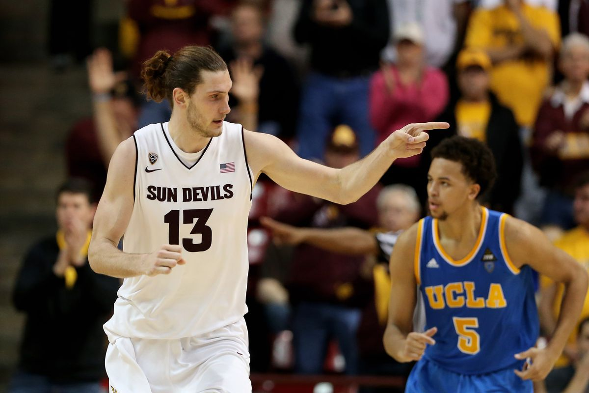 Jordan Bachynski is looking forward to another opportunity against UCLA.