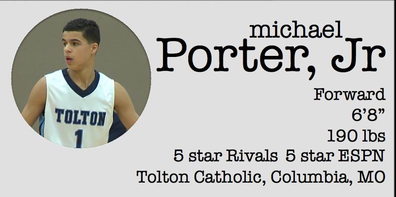 michael porter card