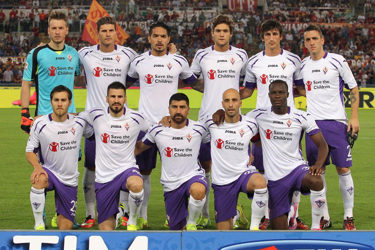 Fiorentina's Season Openning Photo