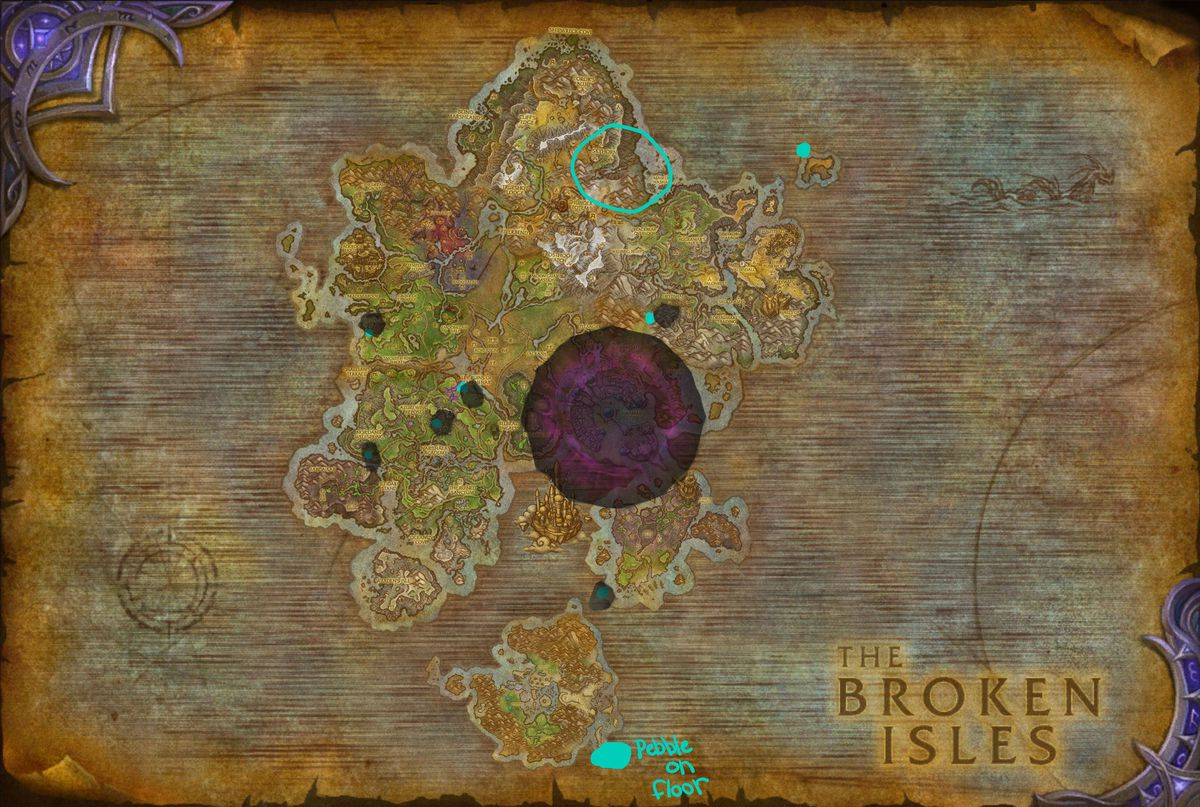 Legion World Map.How World Of Warcraft Players Solved A Wild Puzzle To Unlock