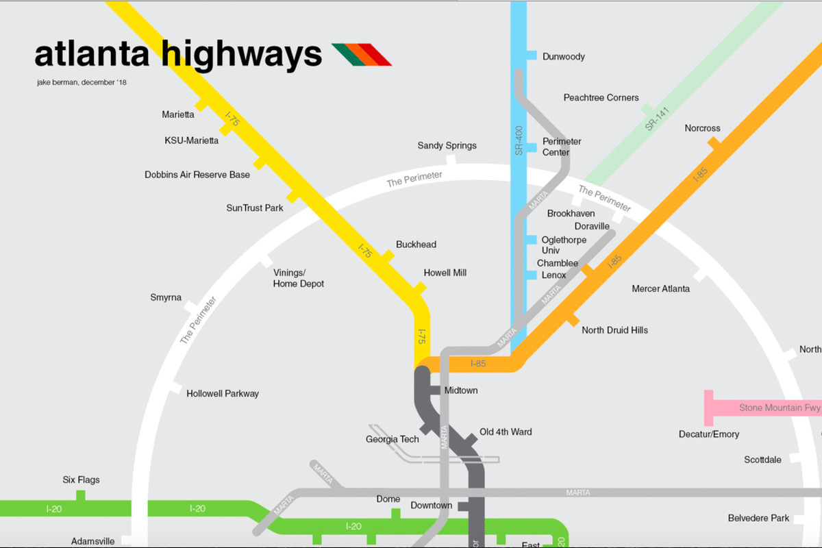 The revised MARTA line vision.